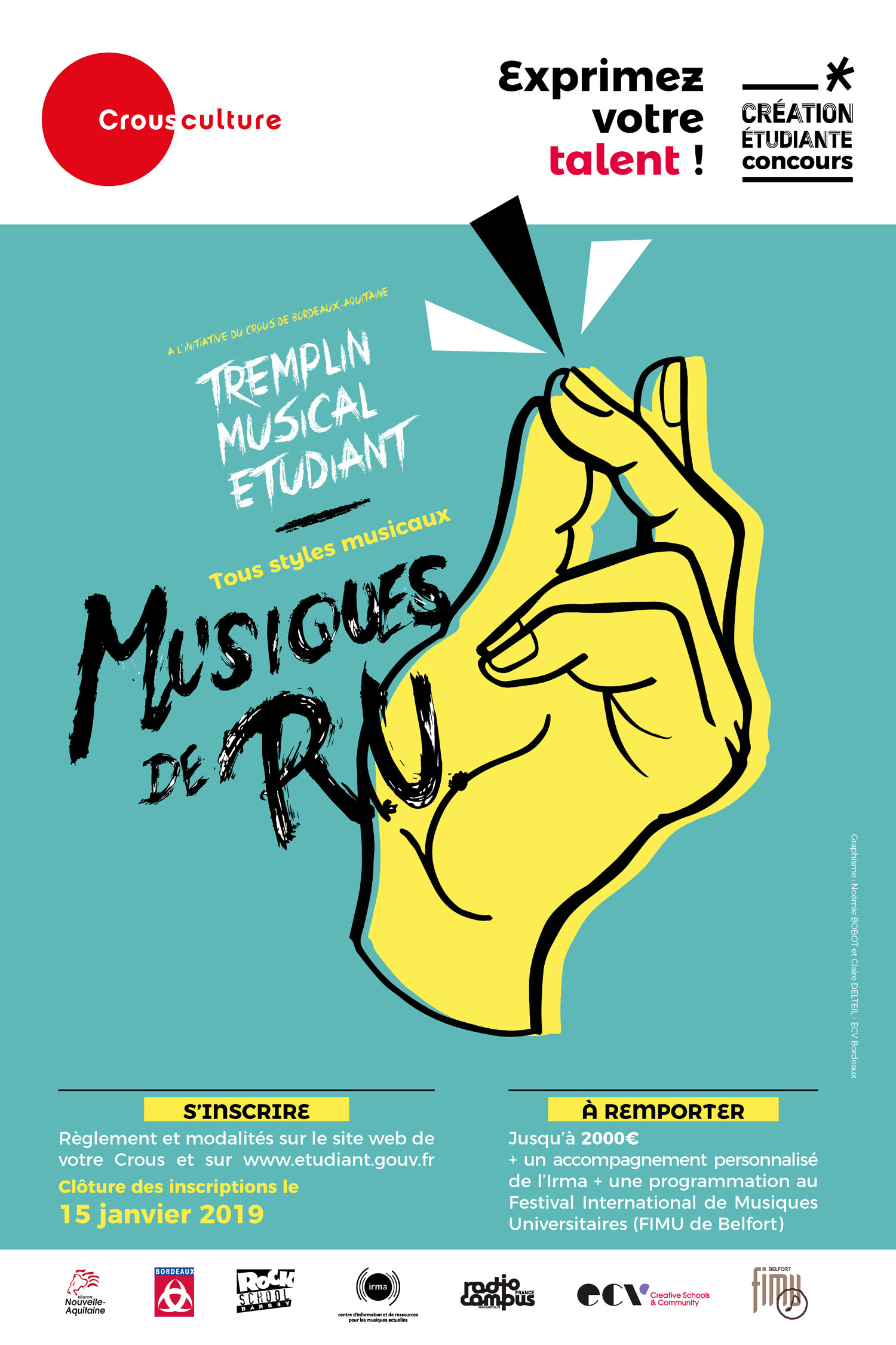 Musiques de RU – Tremplin musical