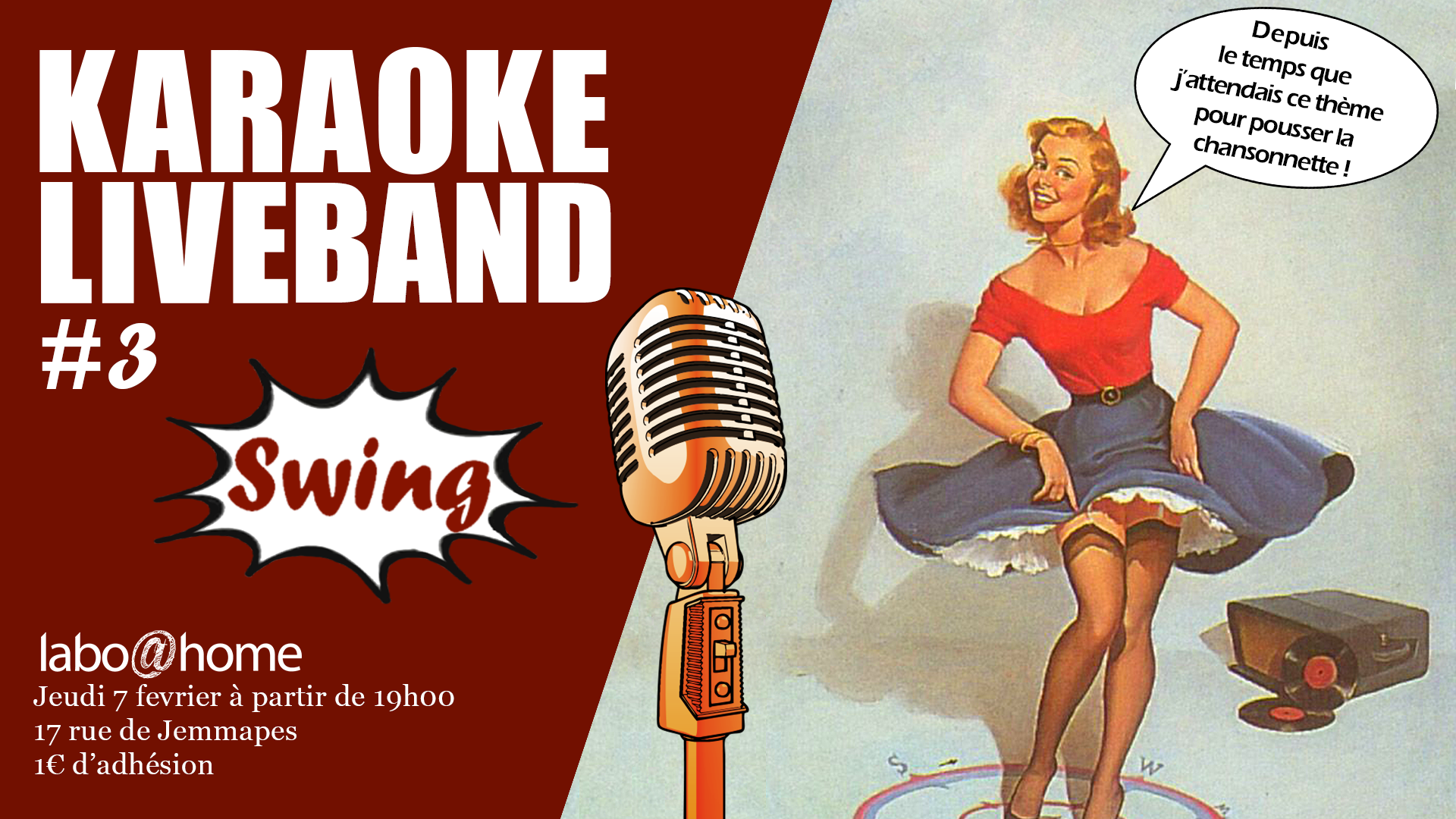 Karaoké Live #3 – Swing Home