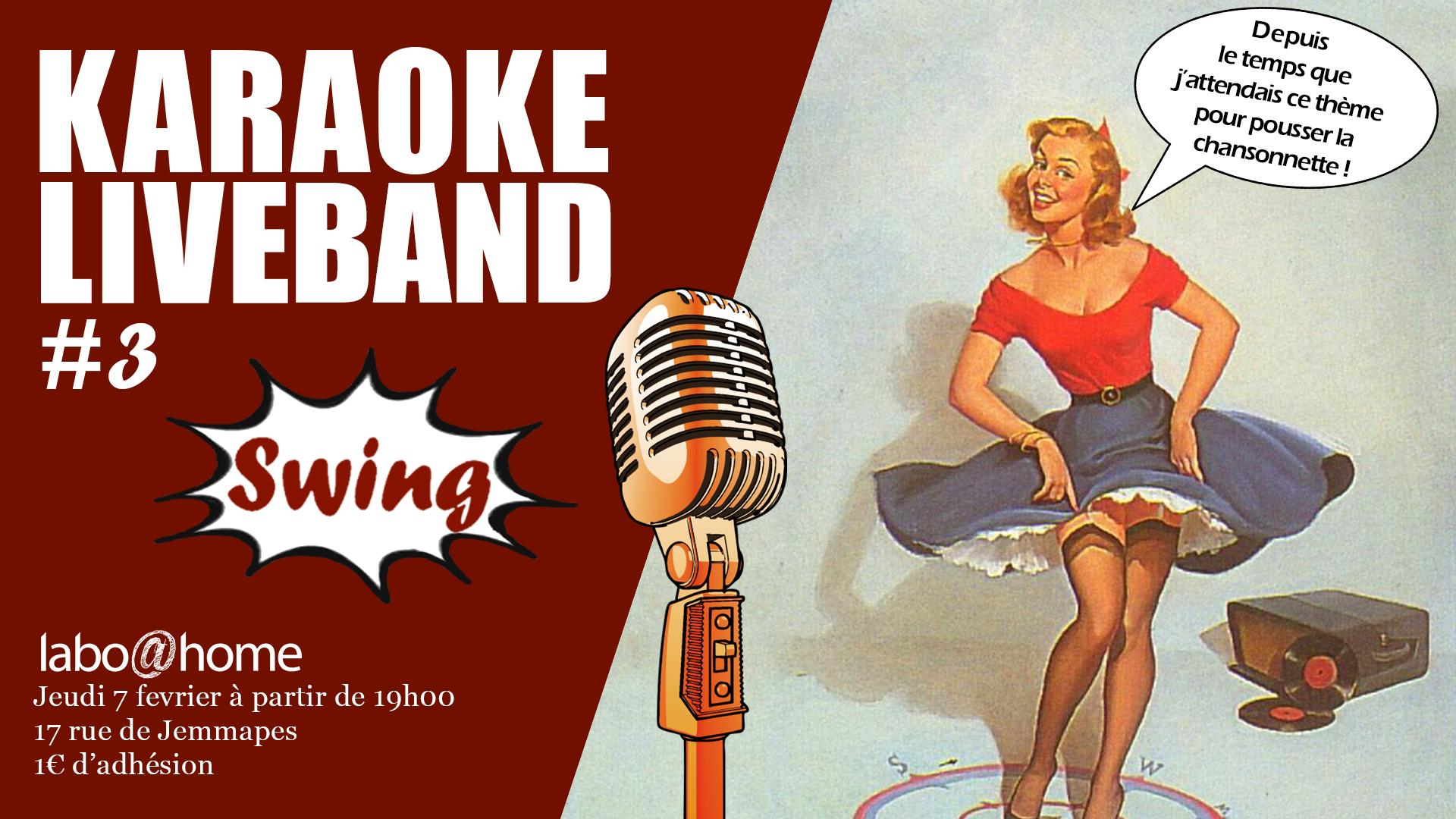Karaoké Live #3 – Swing Home