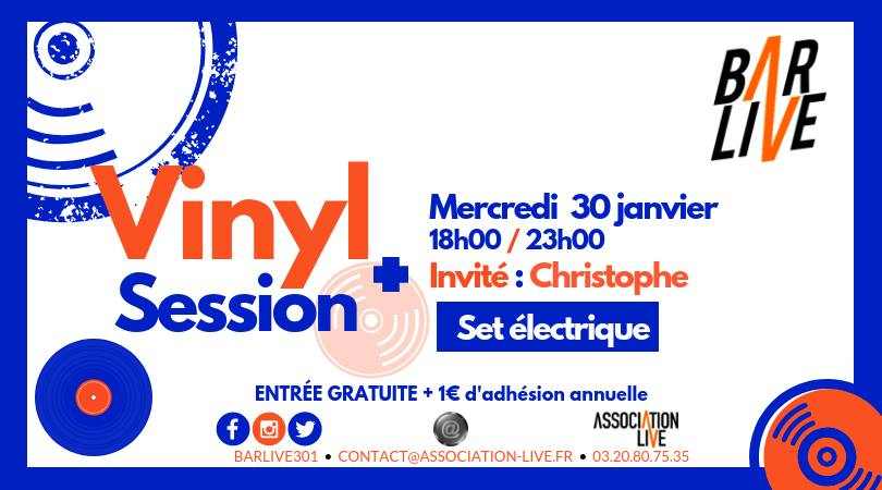 Vinyl Session – Set Éclectique