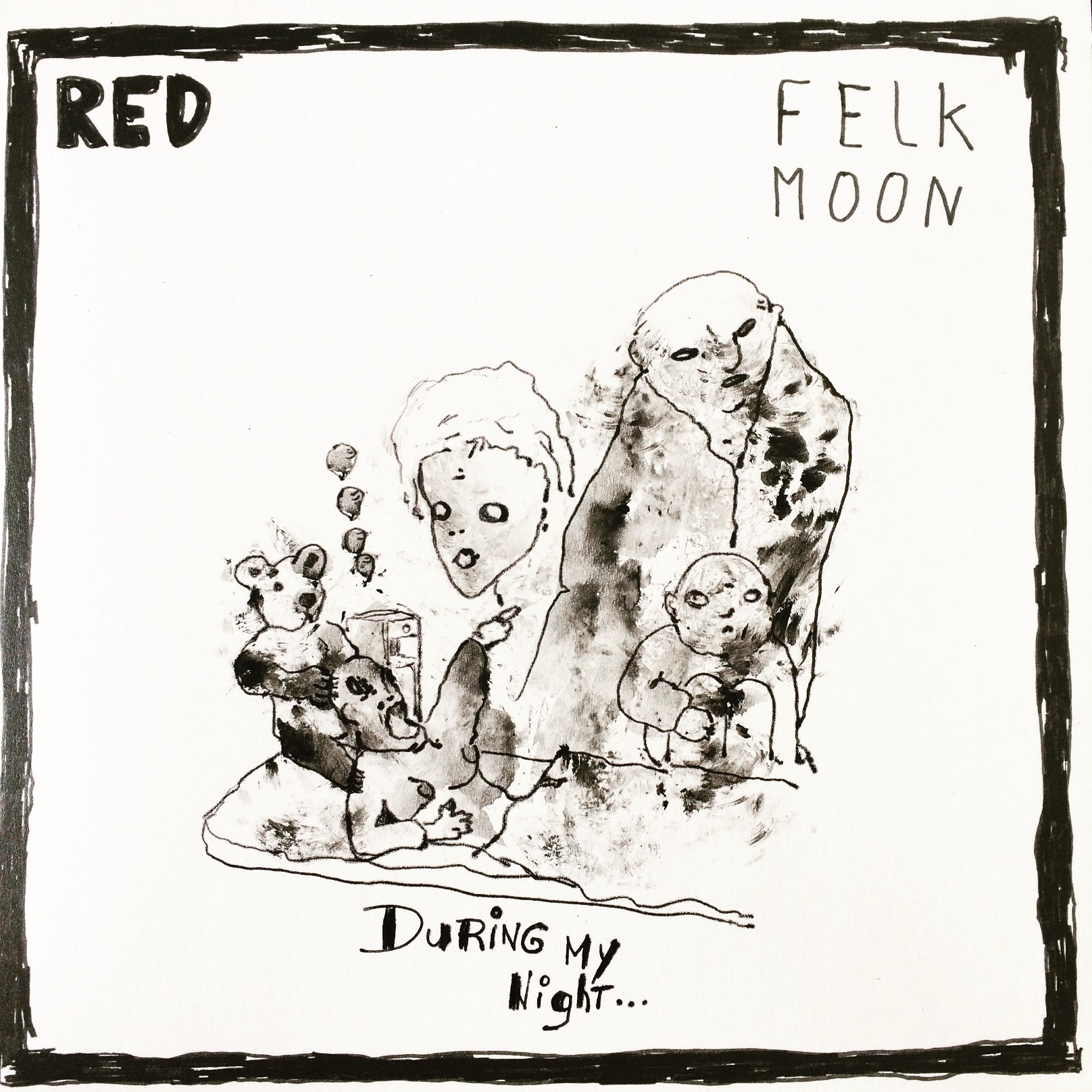 Red – L'expo « Felk moon » + un live