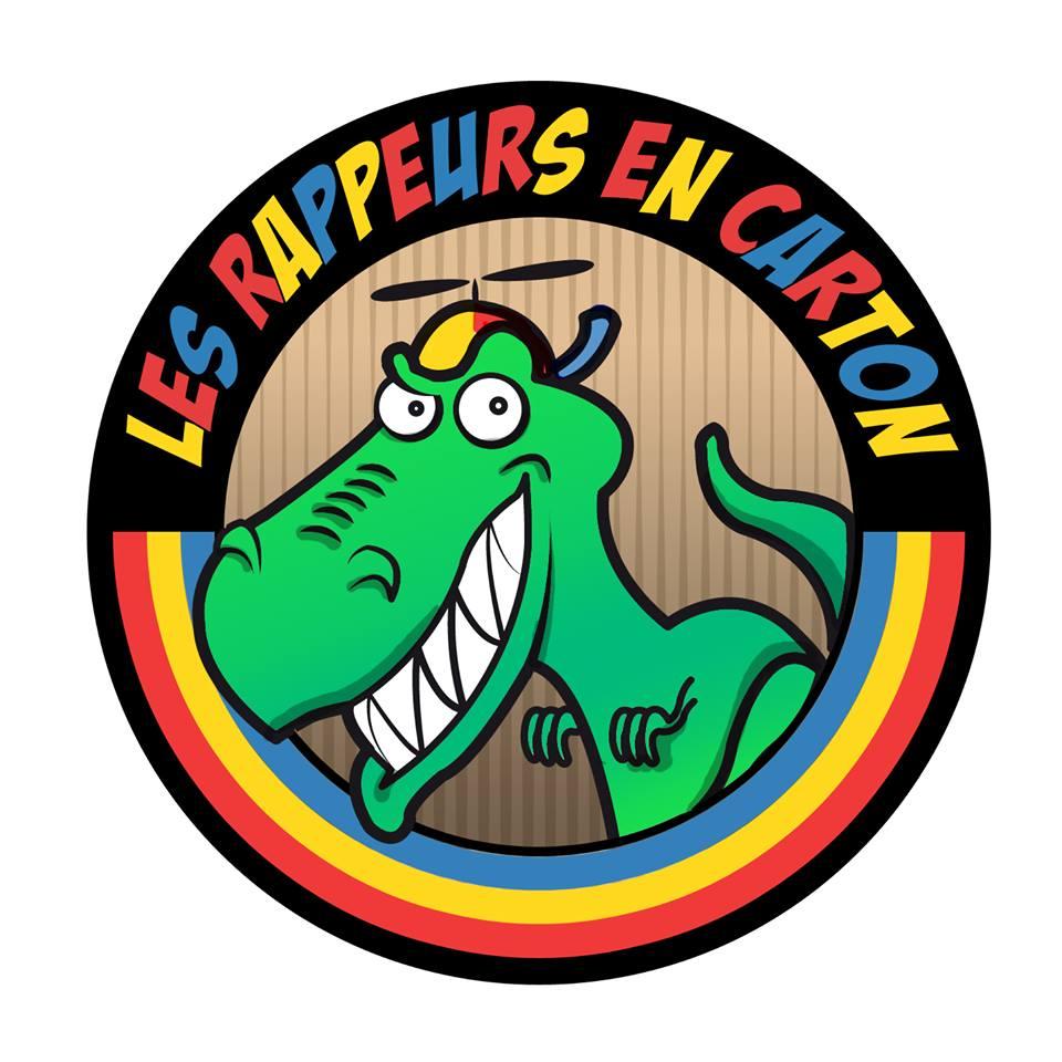 Logo Rappeurs en Carton