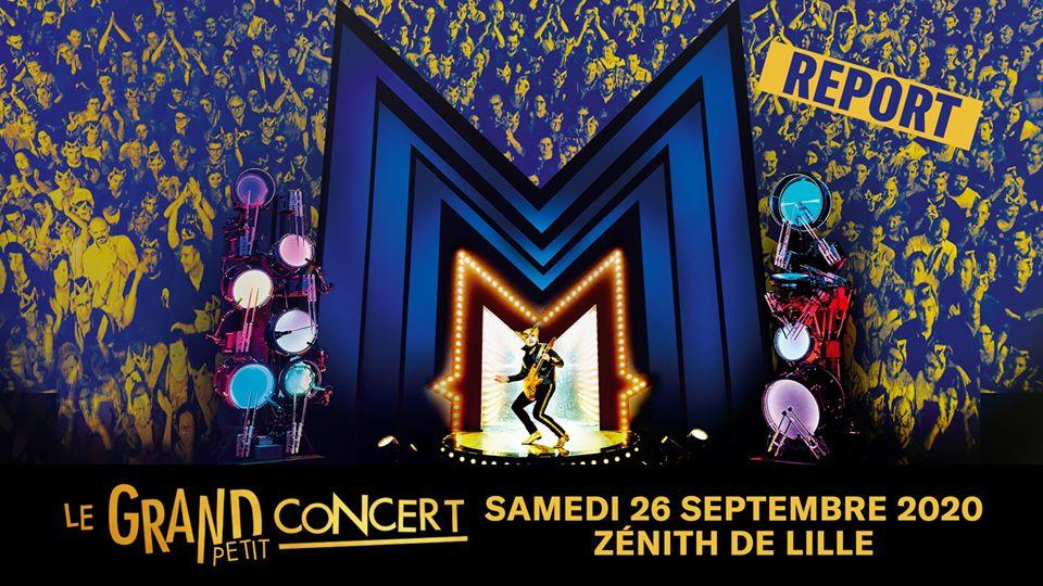 M – Matthieu Chedid au Zénith de Lille