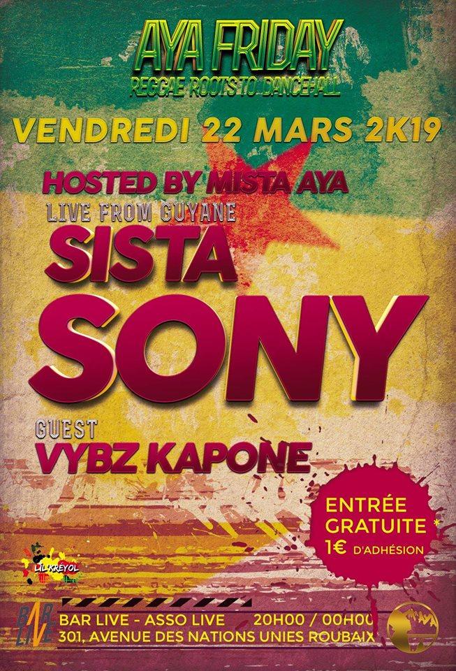 Sista Sony + Vybz Kapone