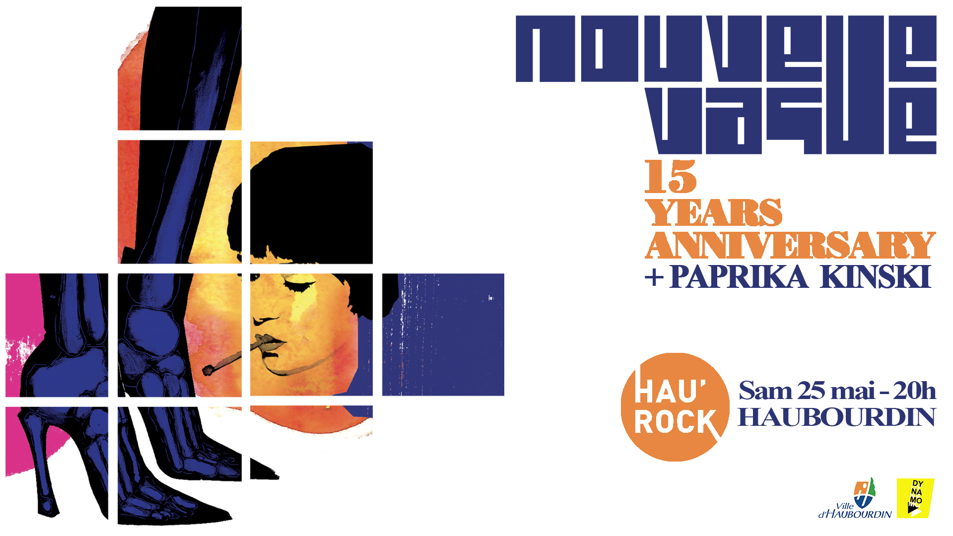 Hau'Rock#5 : Nouvelle Vague + Paprika Kinski