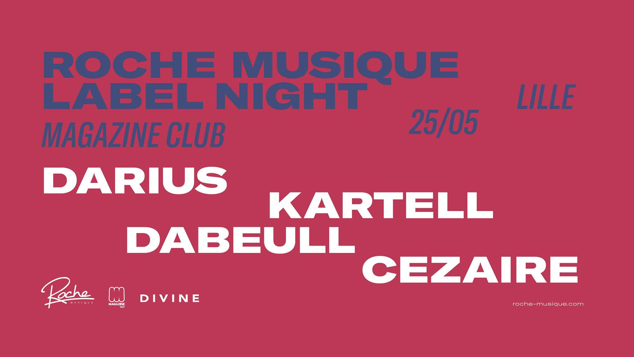Roche Musique Label Night
