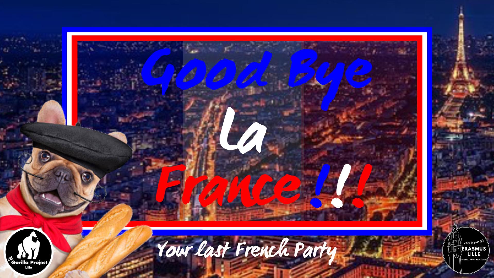 Goodbye la France ! une soirée Erasmus