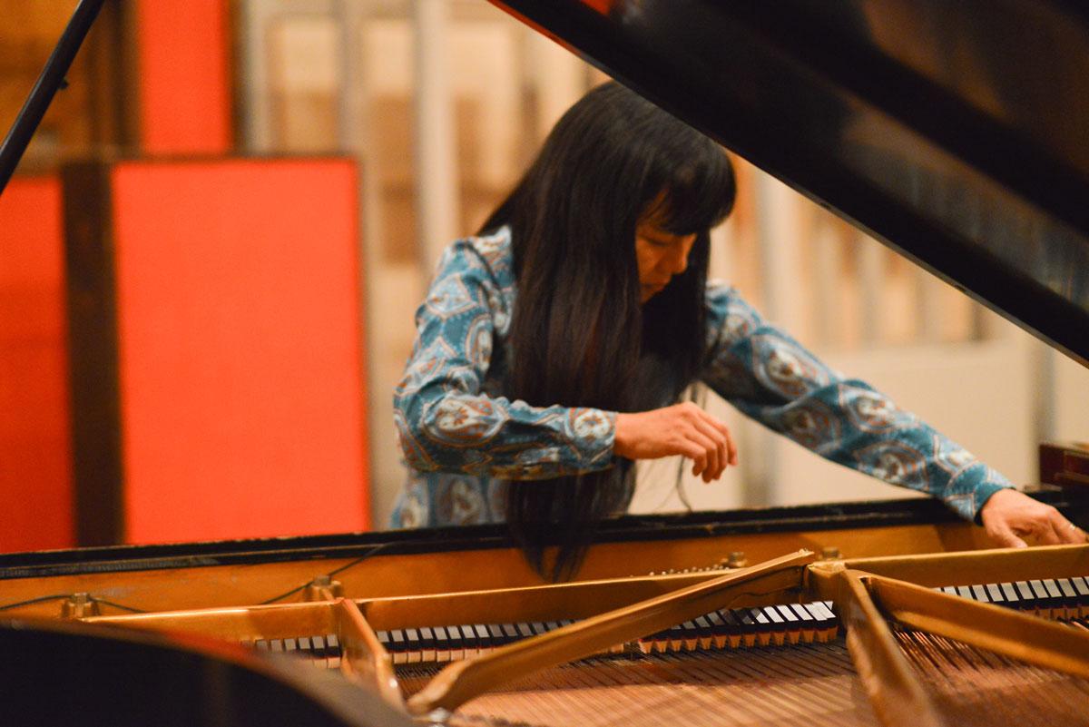 Satoko Fujii et le département jazz du conservatoire de Tourcoing
