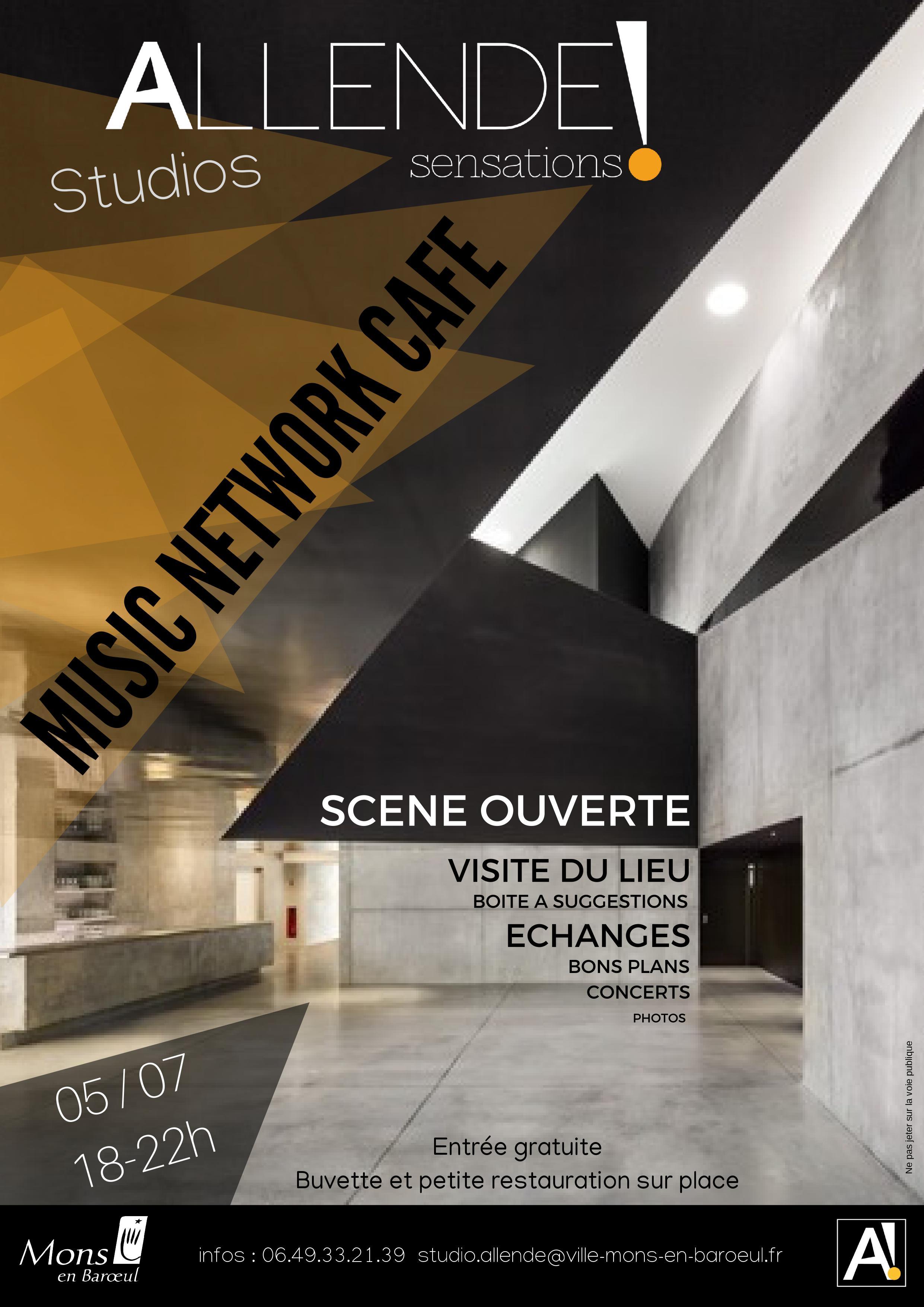 Music Network Café : scène ouverte