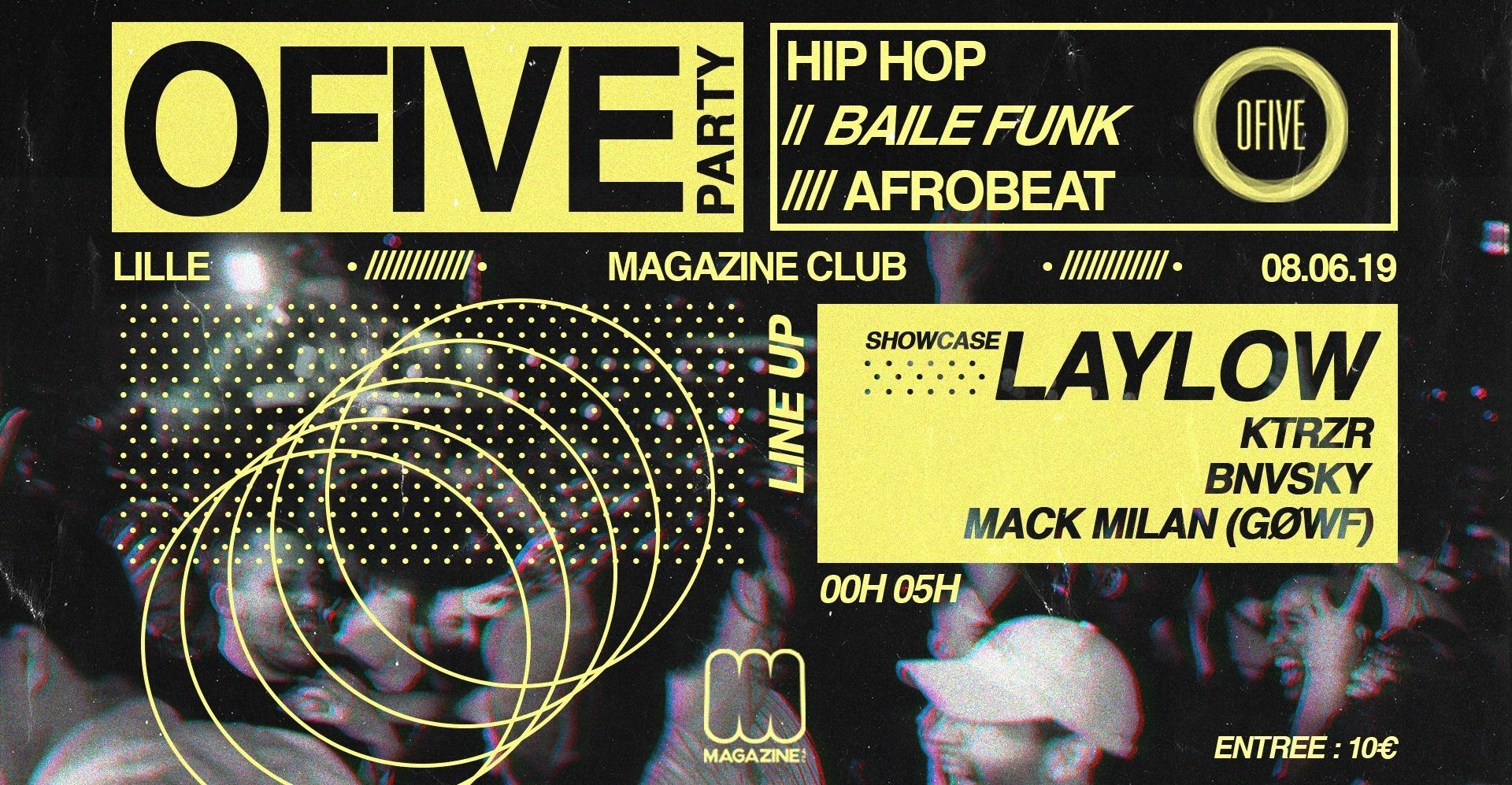 Ofive Party Lille x Magazine Club
