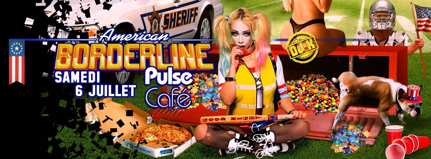 American borderline au Pulse Café