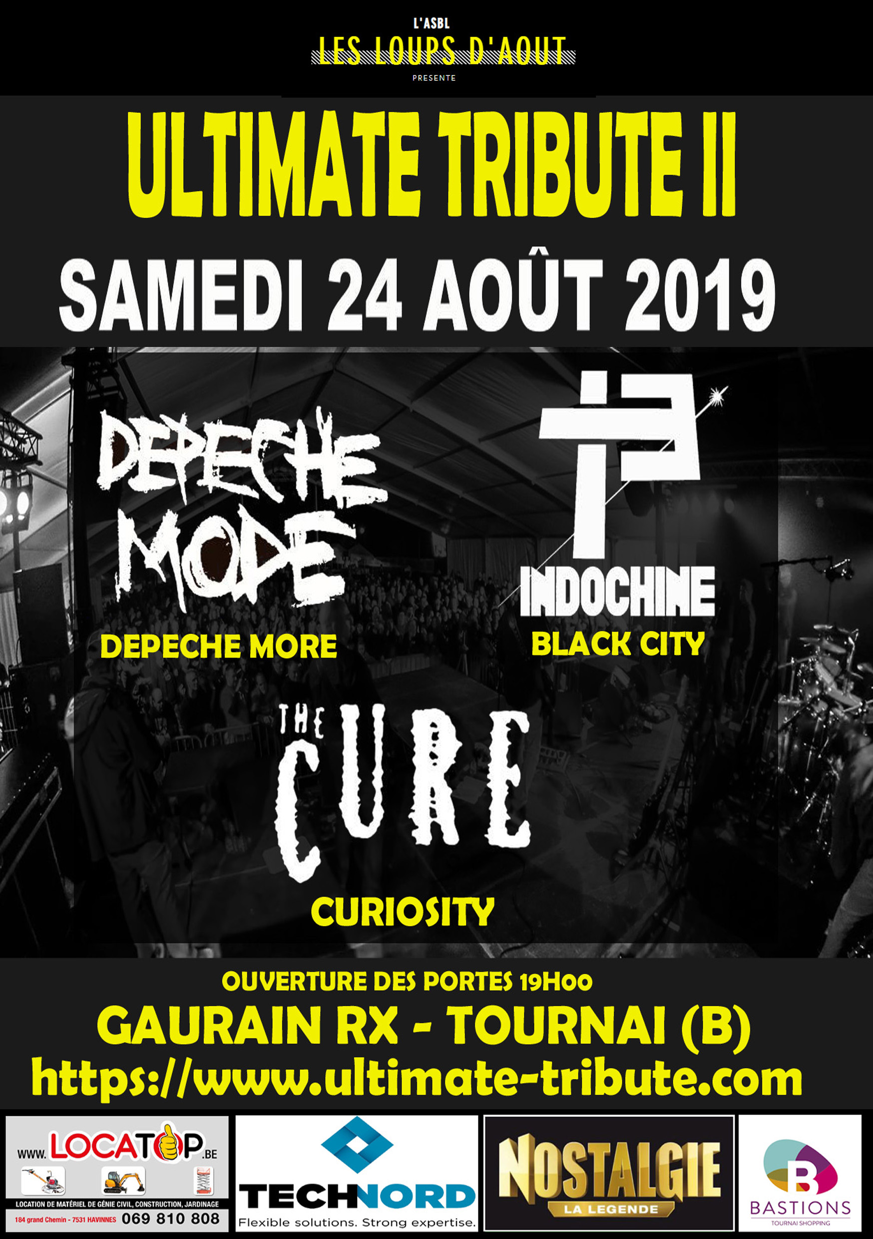 Ultimate Tribute 2 – Tribute to the Cure, Indochine…