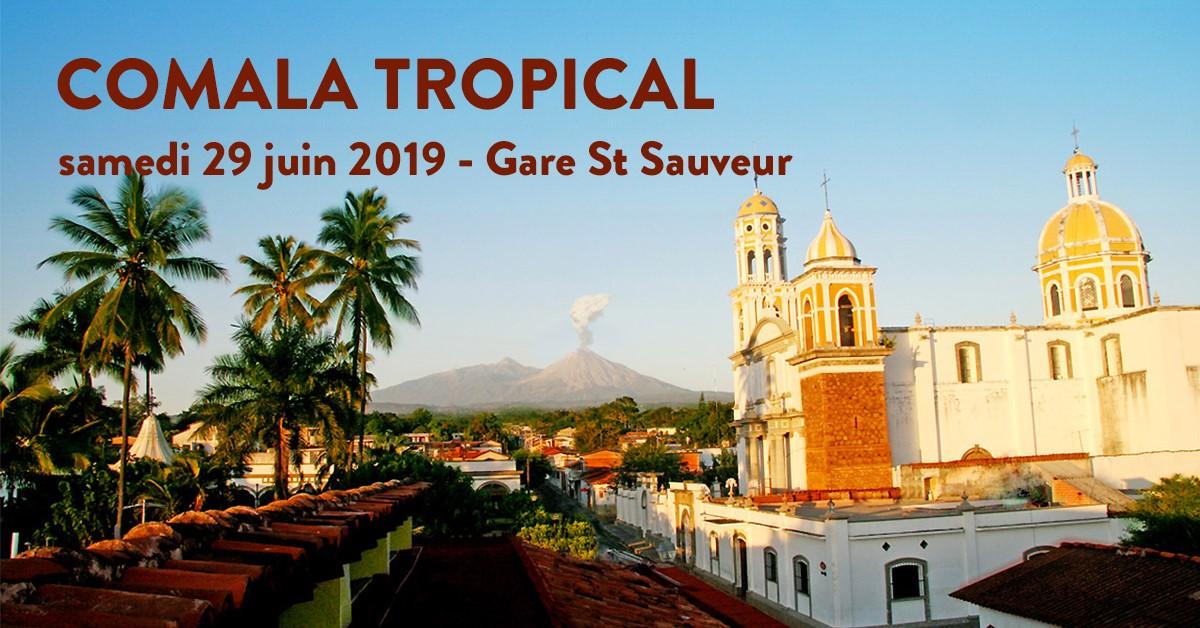 Comala Tropical avec Palo Santo Discos et SupaGroovalistic