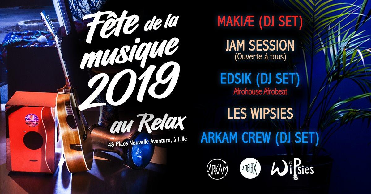 Jam session et DJ sets au Relax pour la Fête de la musique