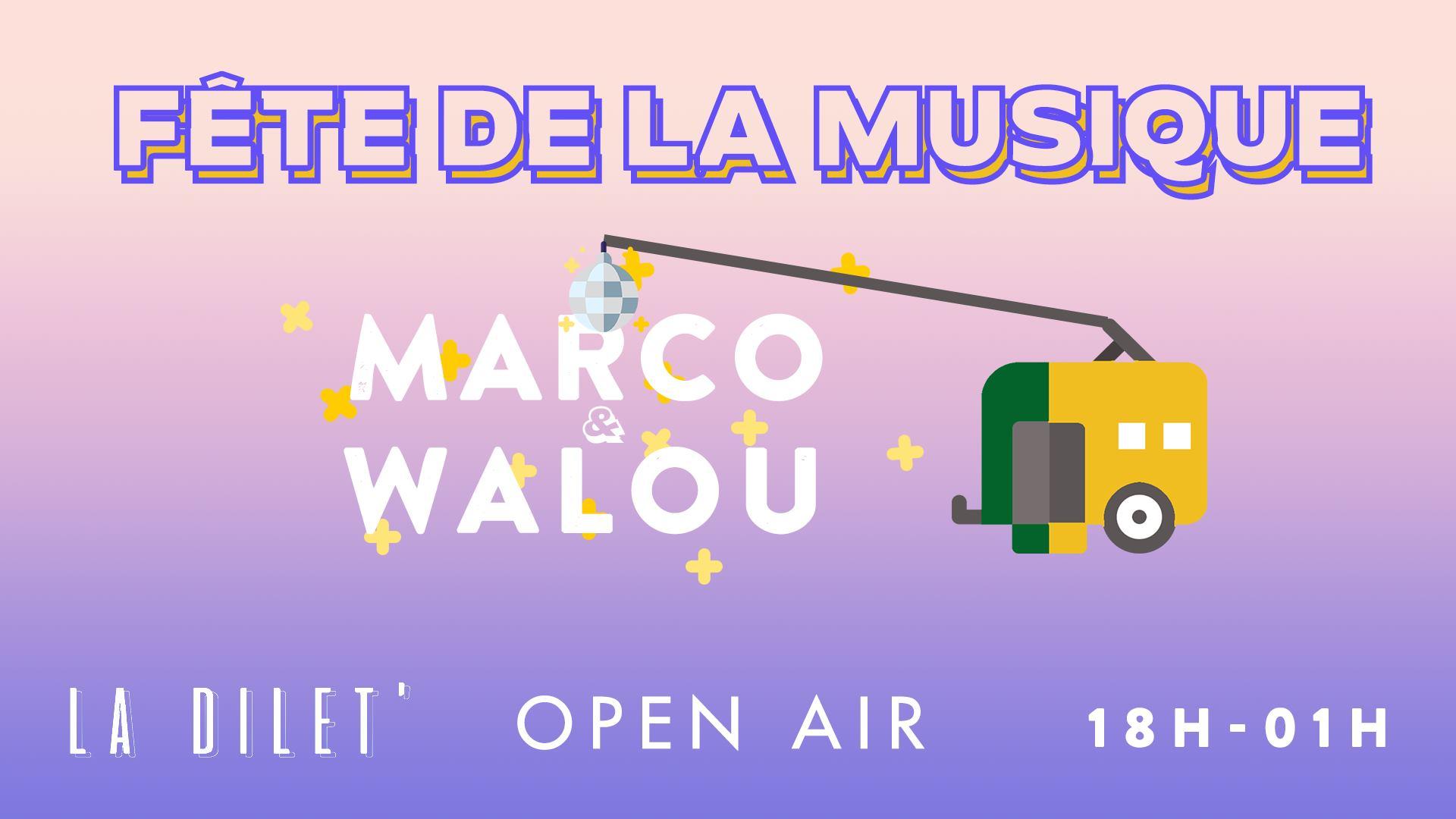 La Fête de la Musique en open air à La Dilet'