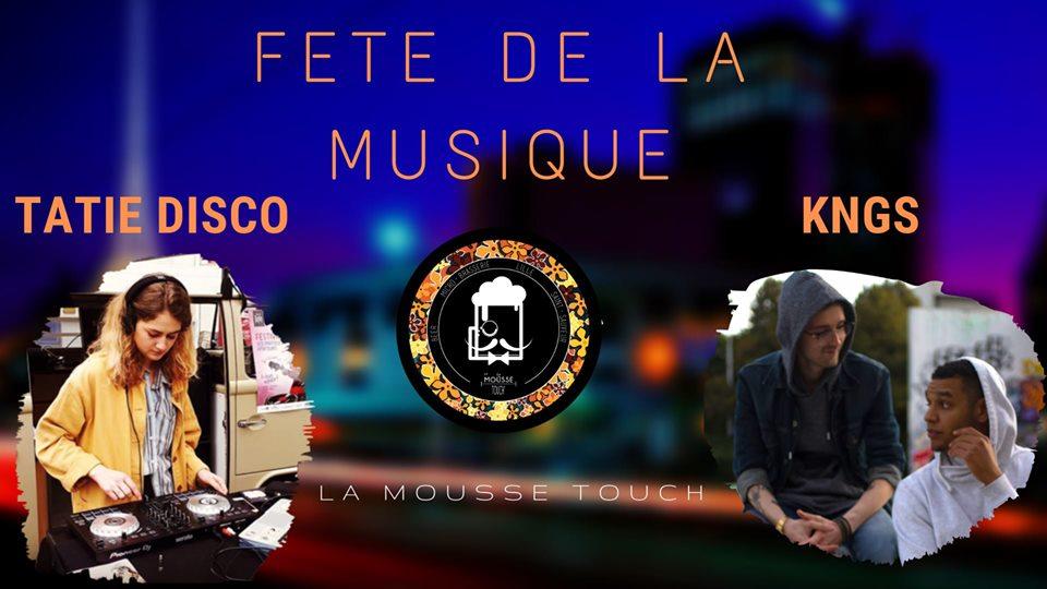 La Mousse Touch' envoie du hip-hop/disco pour la Fête de la musique