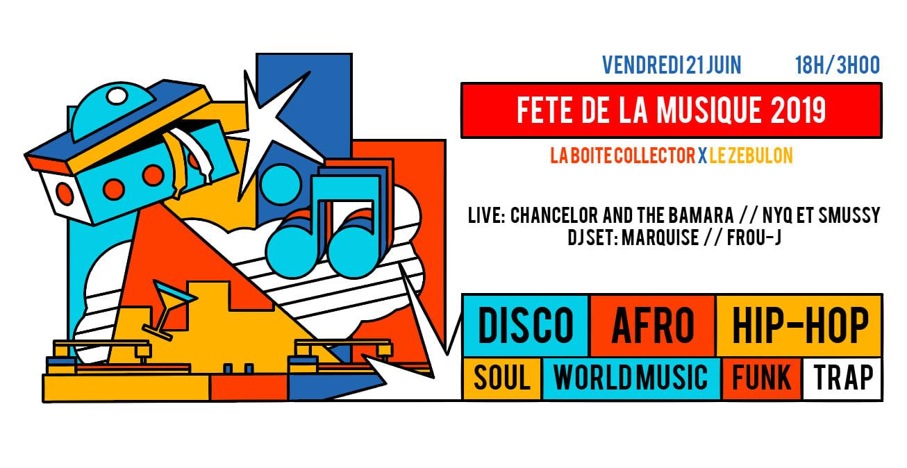 Zebulon X La Boite Co fêtent la musique