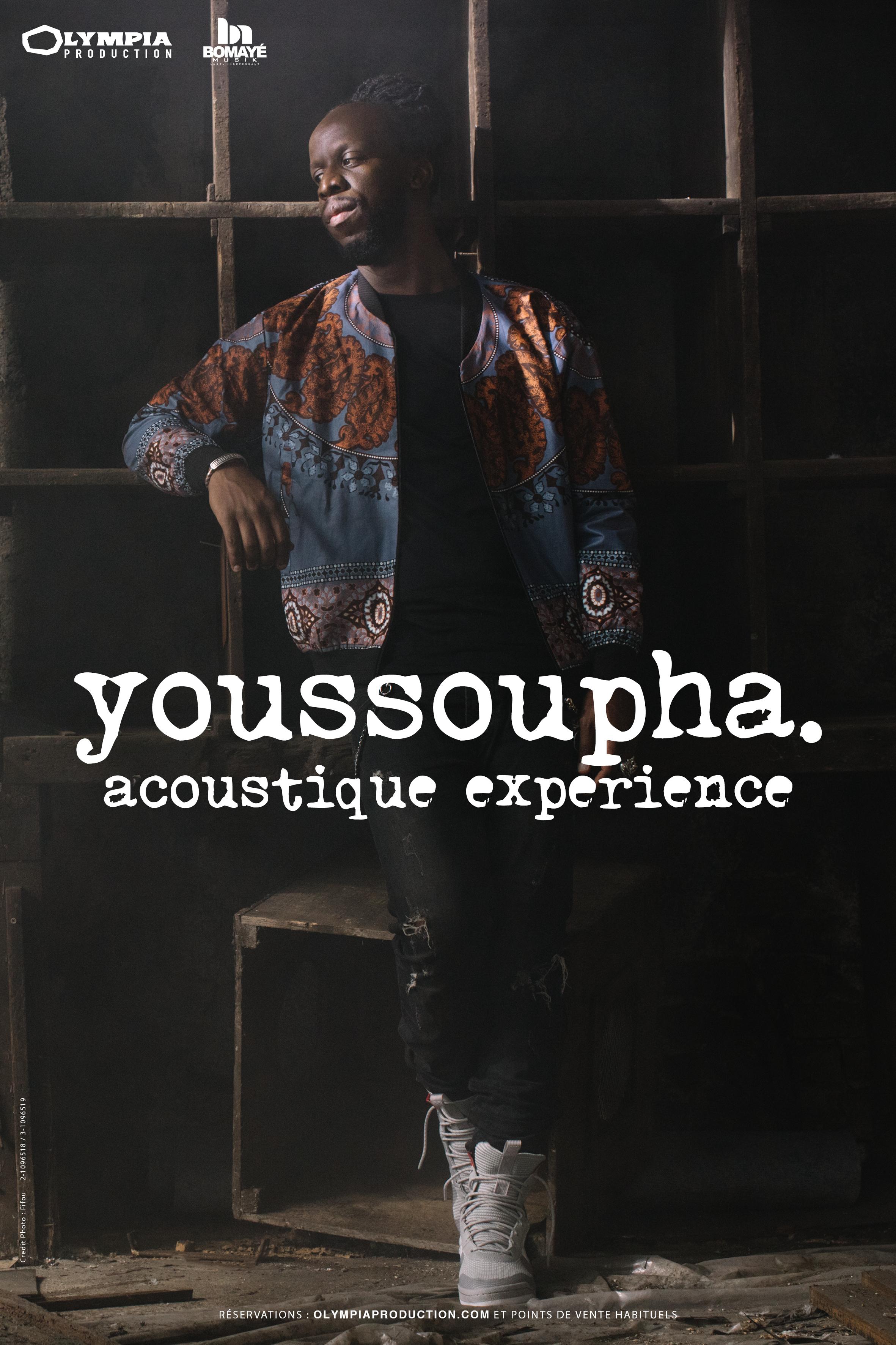 Youssoupha en concert acoustique