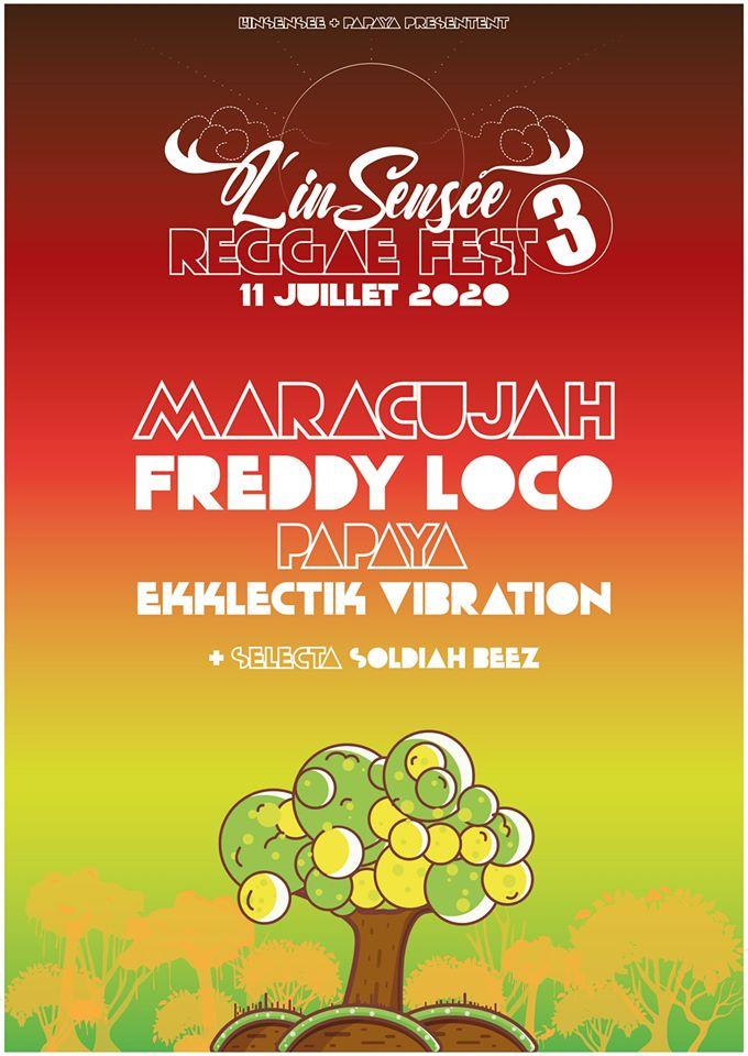 l'InSensée Reggae FEST #3