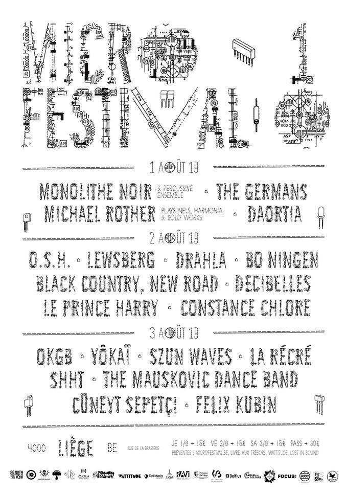 Micro Festival à Liège