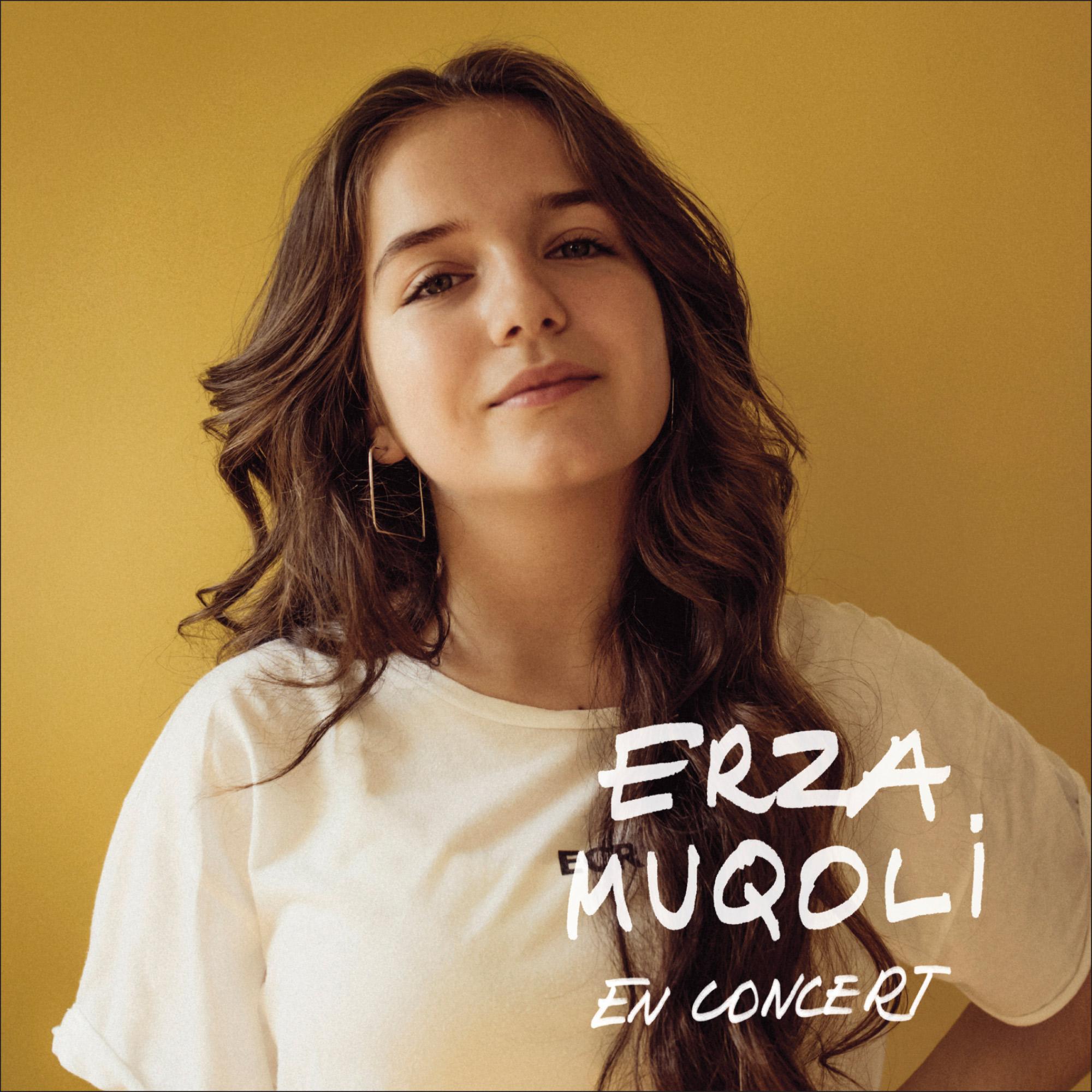 Erza Muqoli (Kids United) au Colisée