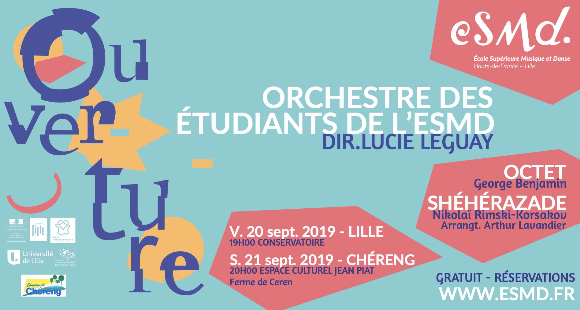 Ouverture – Orchestre des étudiants de l'ESMD