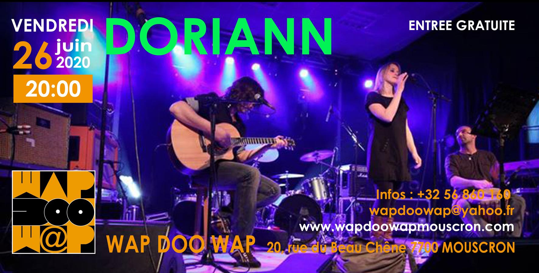 Doriann au Wap Doo Wap