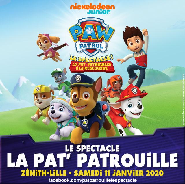Pat' Patrouille, le spectacle
