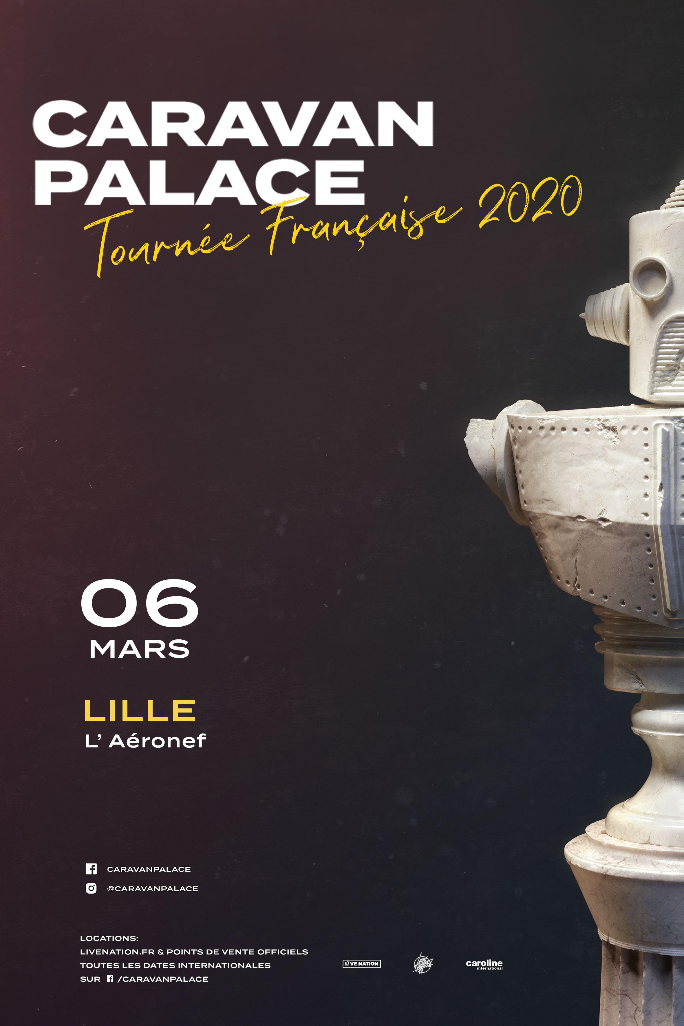 Caravan Palace de retour à l'Aéronef