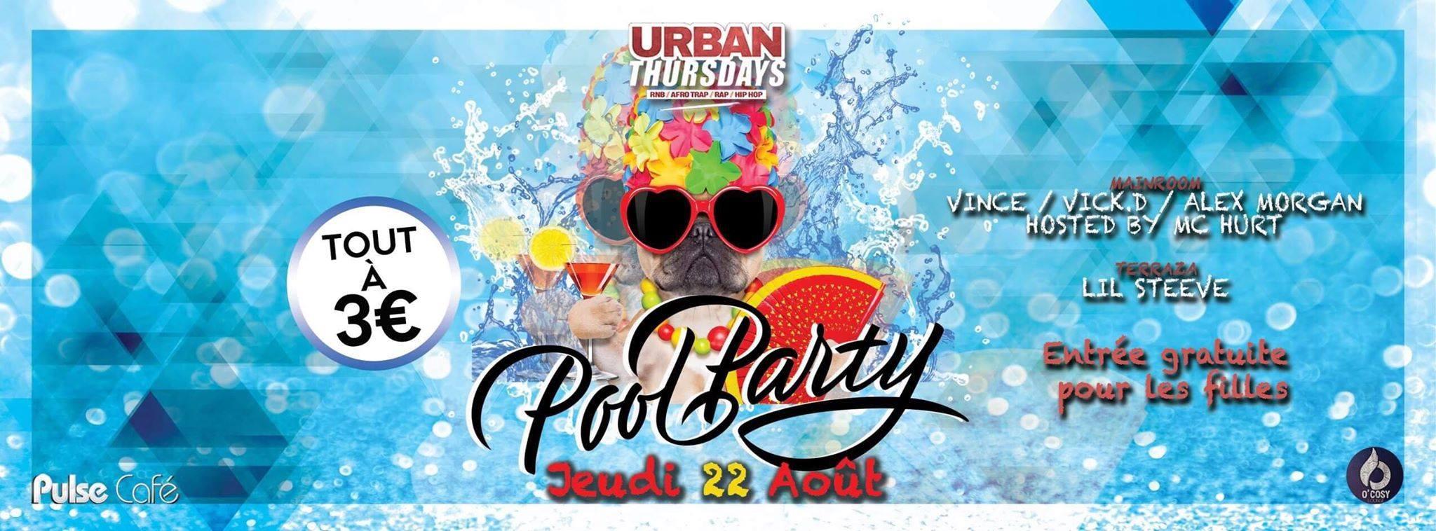 Urban Thursdays : Pool Party