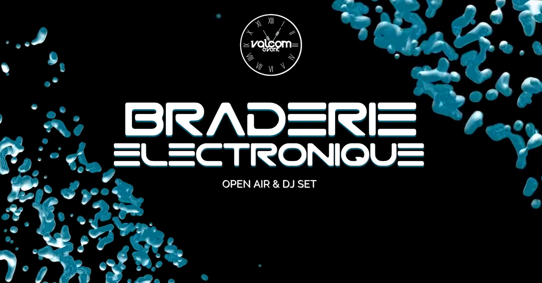 La Braderie Electronique en open air