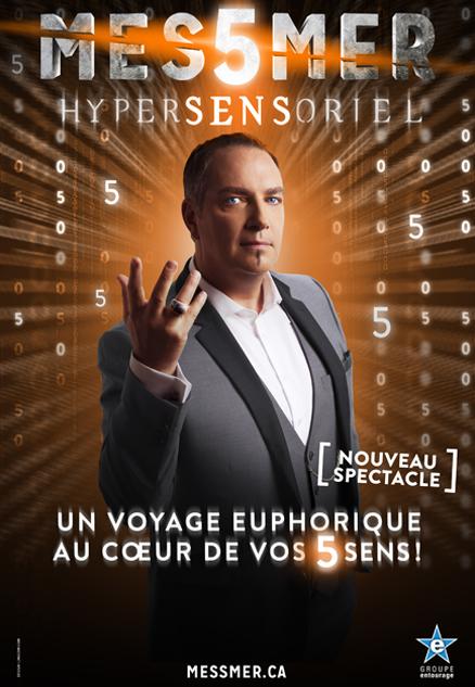 Messmer dans Hypersensoriel au Zénith de Lille