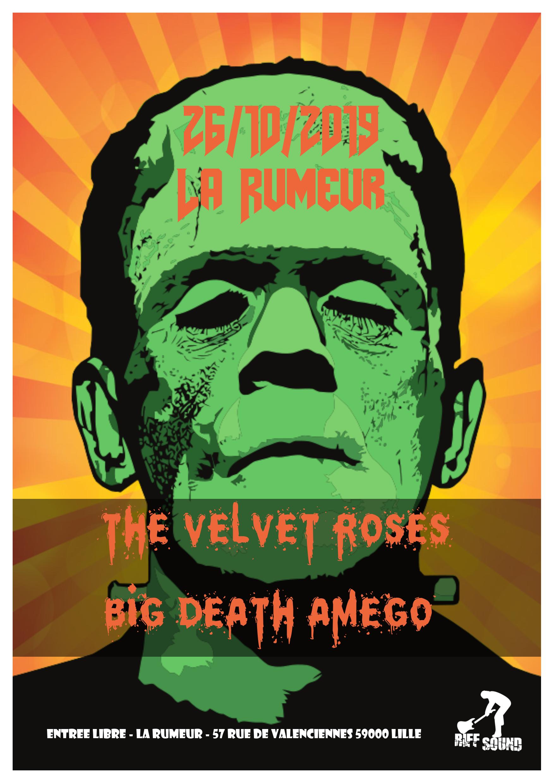 The Velvet Roses + Big Death Amego