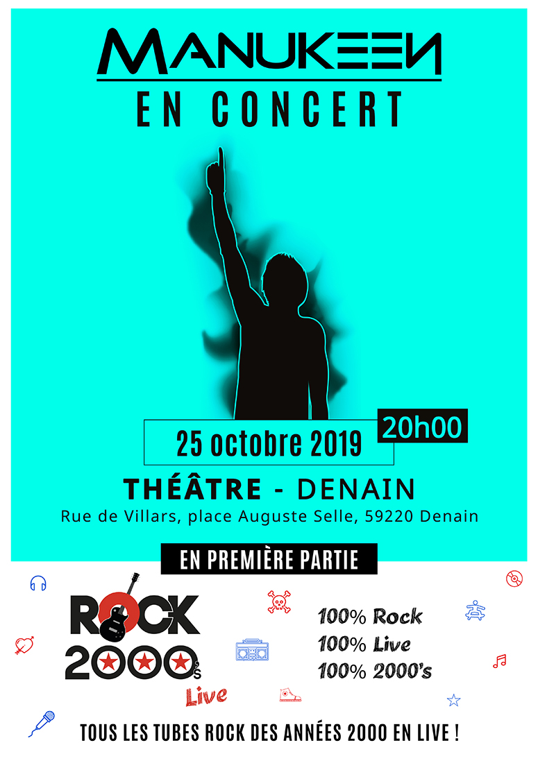 Manukeen + Rock 2000's live