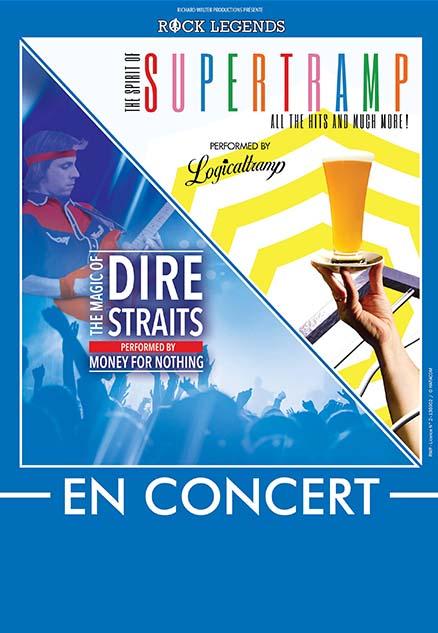 Supertramp & Dire Straits, la tournée hommage