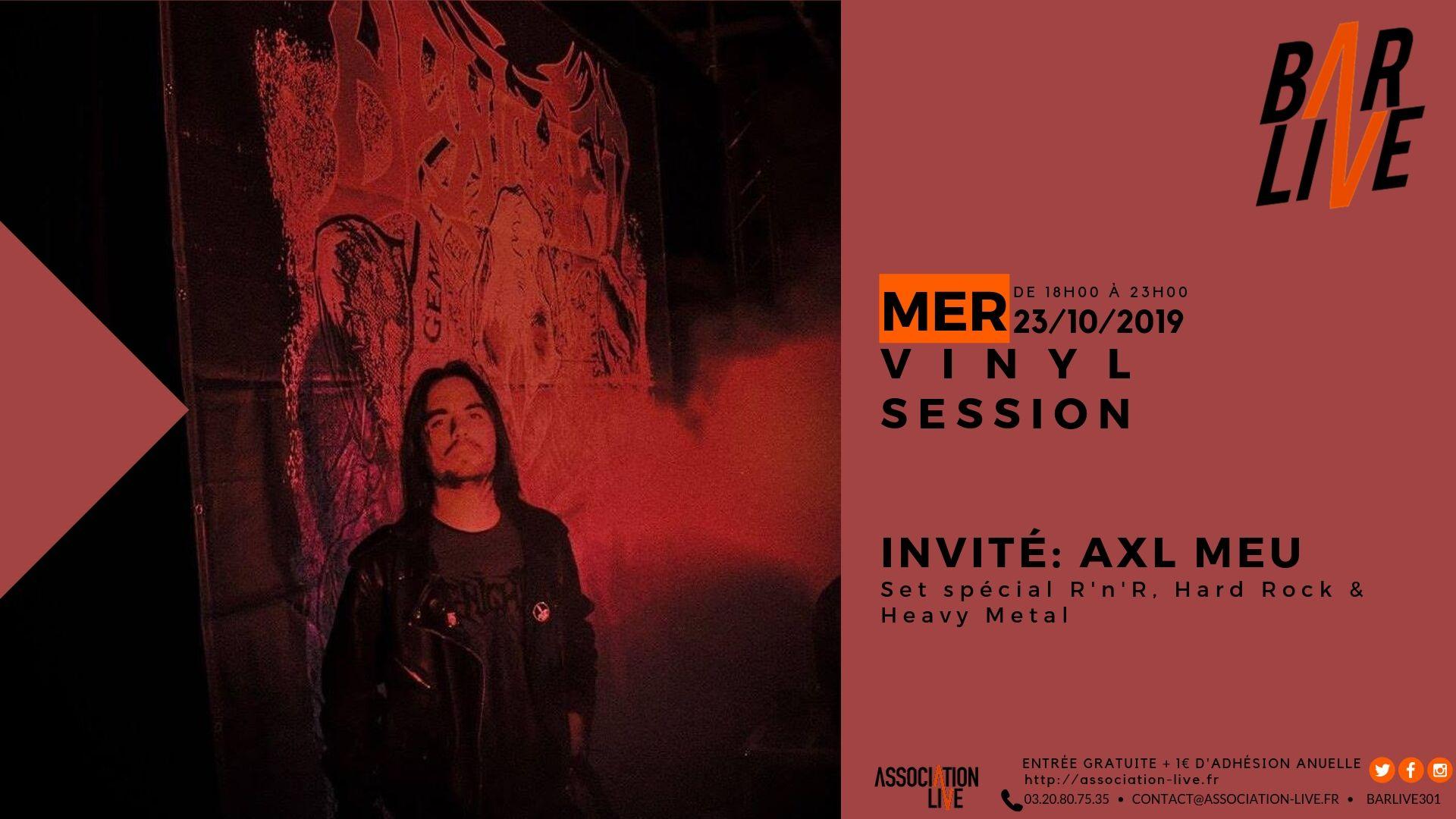 Vinyl Session avec Axl Meu