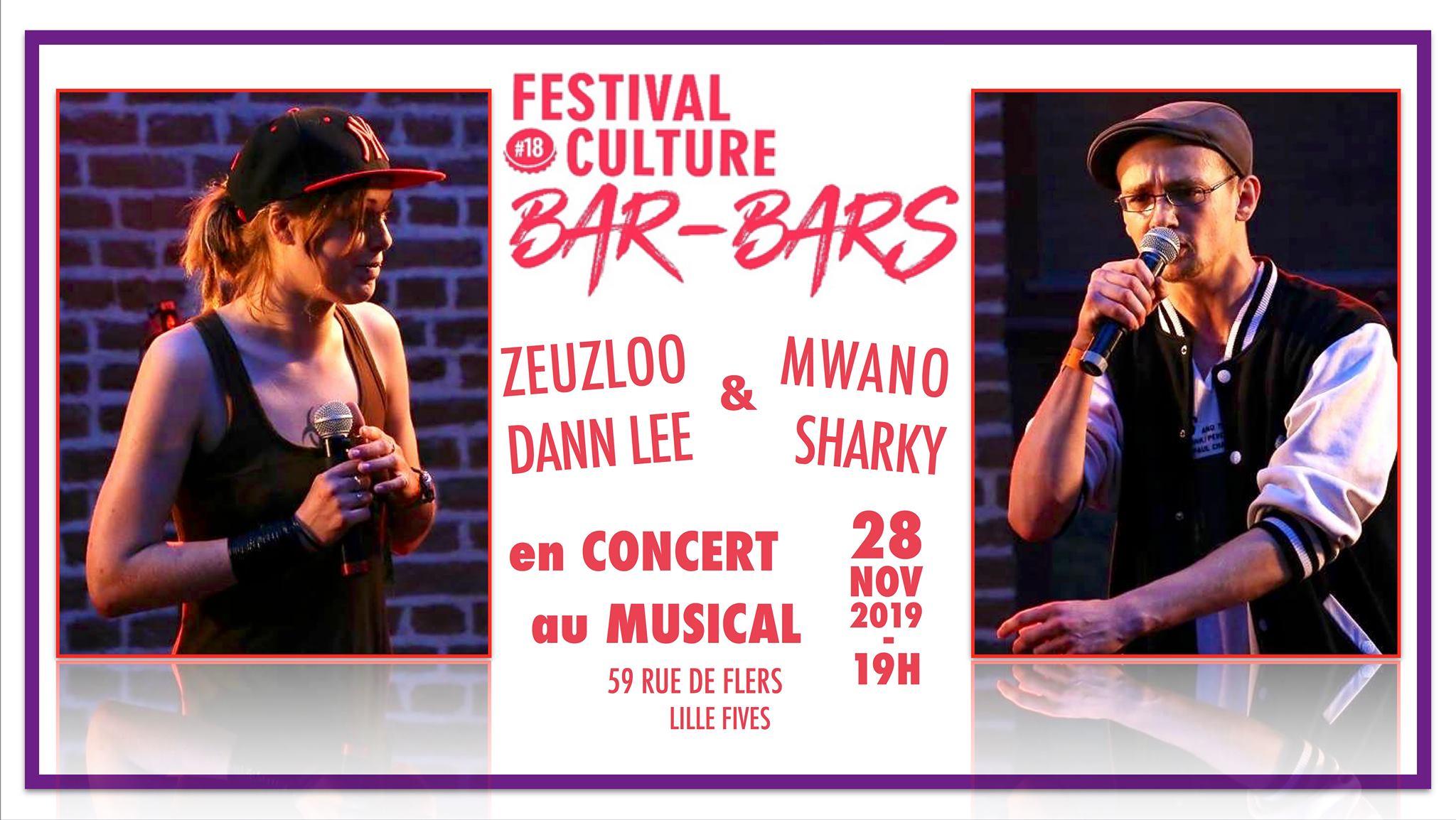 Festival Culture Bar-Bars au Musical