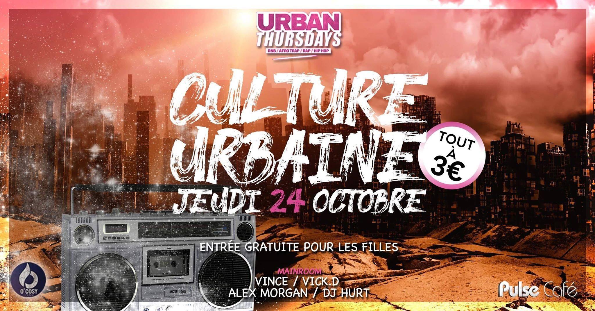 Urban Thursdays : Culture urbaine