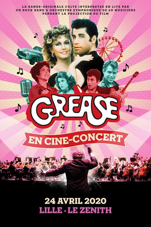 Grease en ciné-concert au Zénith