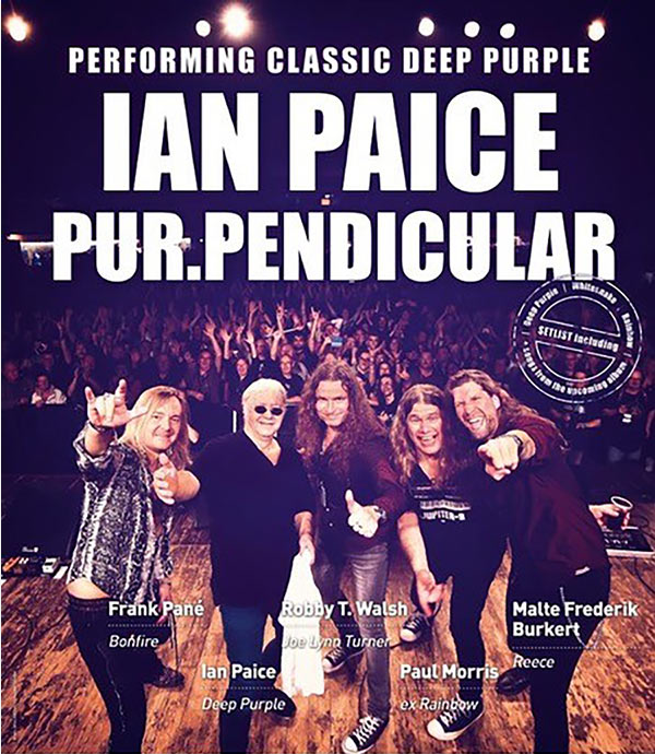 Ian Paice feat PurPerpendicular play Deep Purple