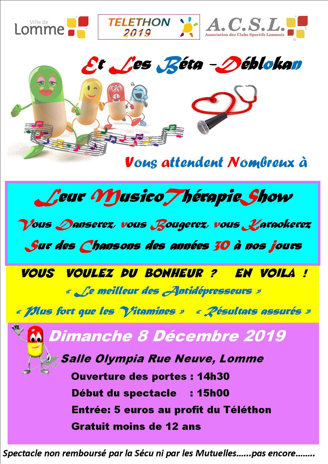 Musico Therapie Show à l'Olympia de Lomme