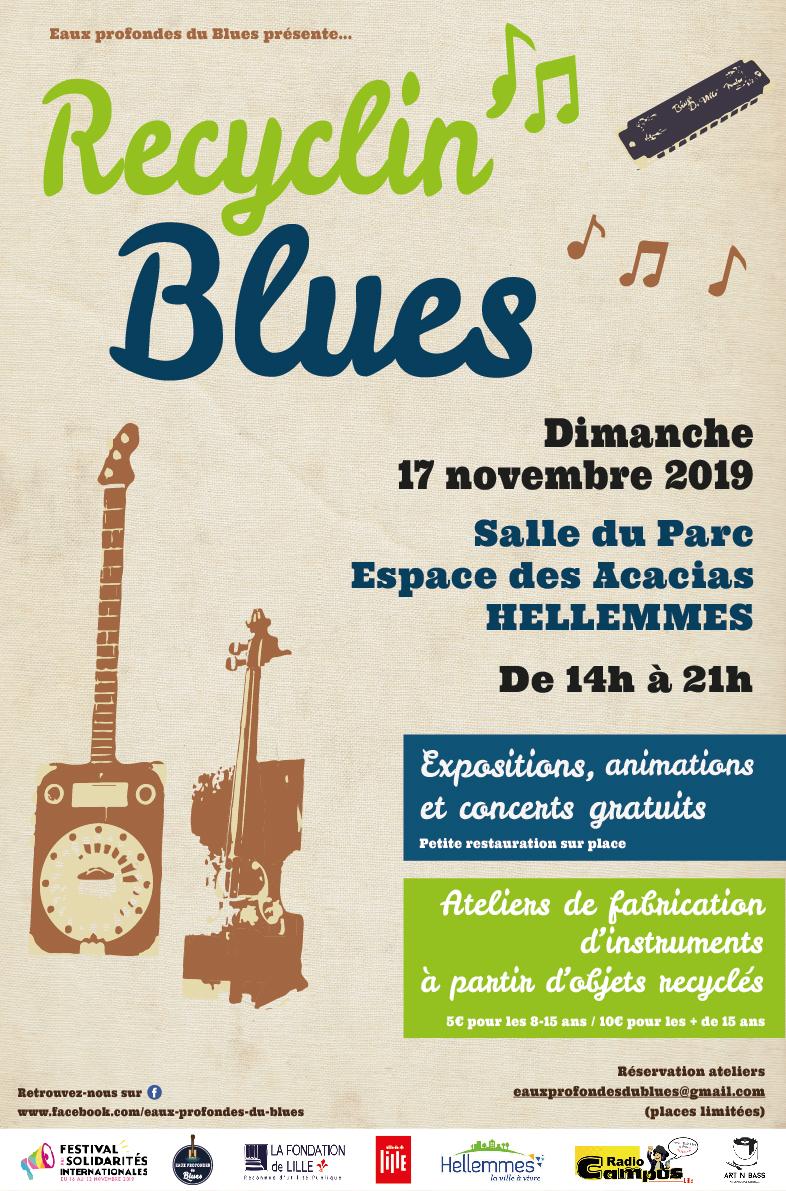 Musique et recyclage avec Recyclin'blues