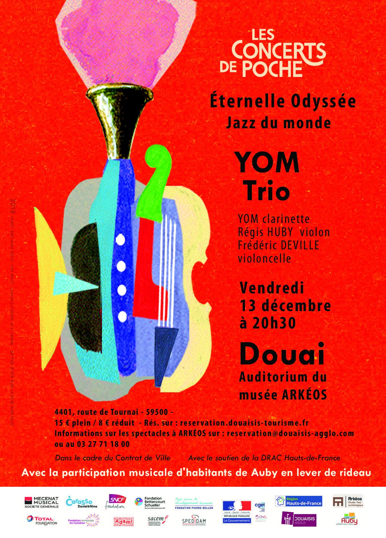 Yom Trio au Musée Arkéos