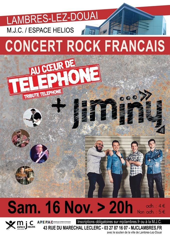 Soirée 100% Rock Français