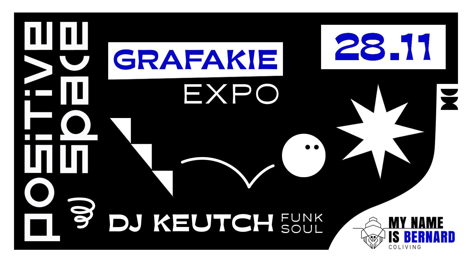 Exposition Grafakie / Positive space