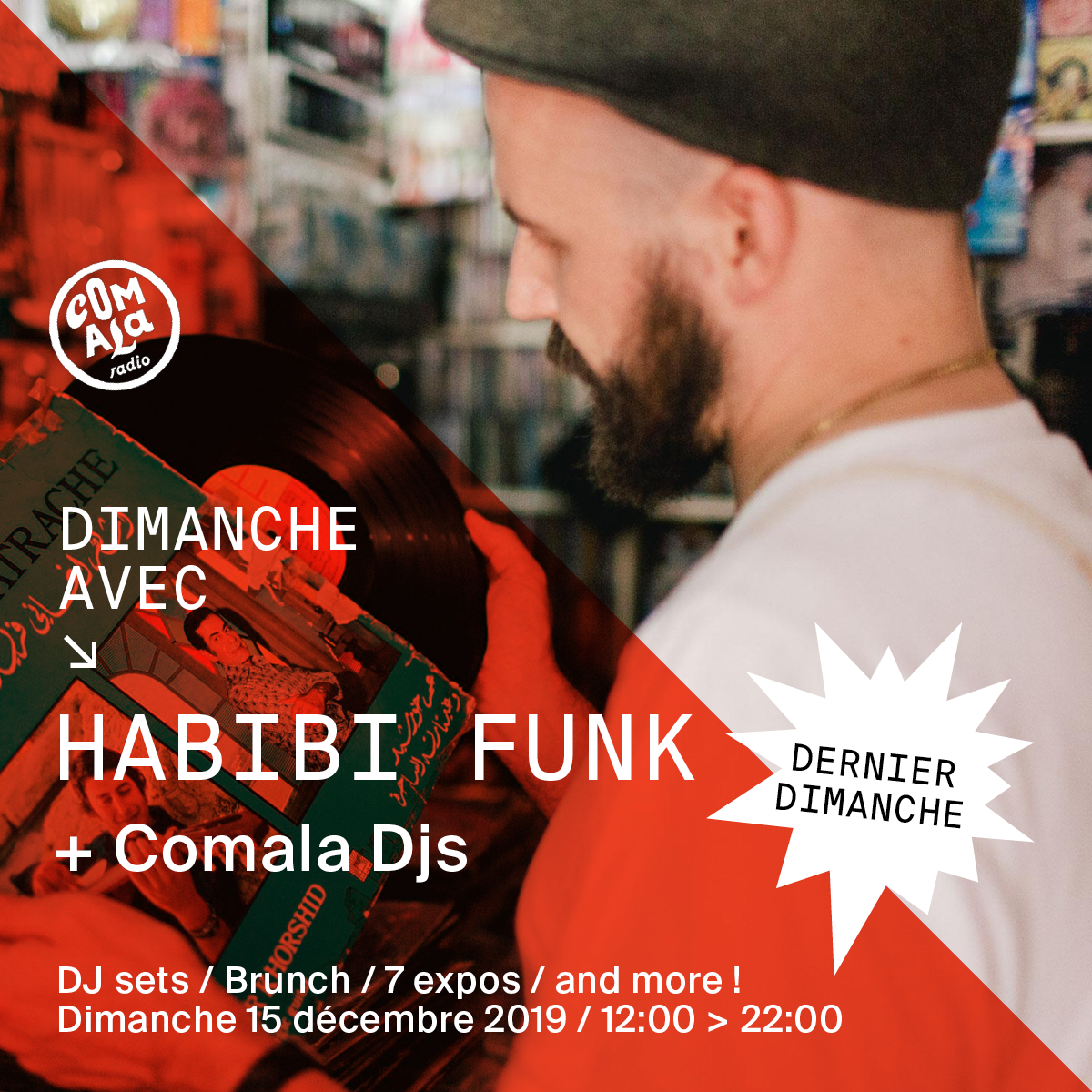 Dimanche avec Habibi Funk & Comala DJs