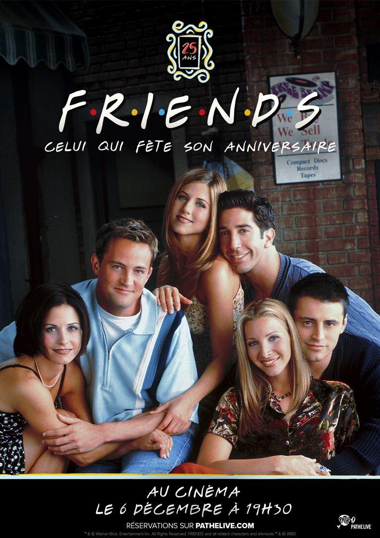 Friends : Celui qui fête son anniversaire