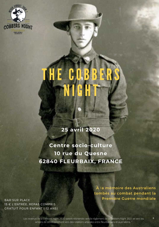 Cobbers Night, soirée commémorative en l'honneur de l'amitié franco australienne