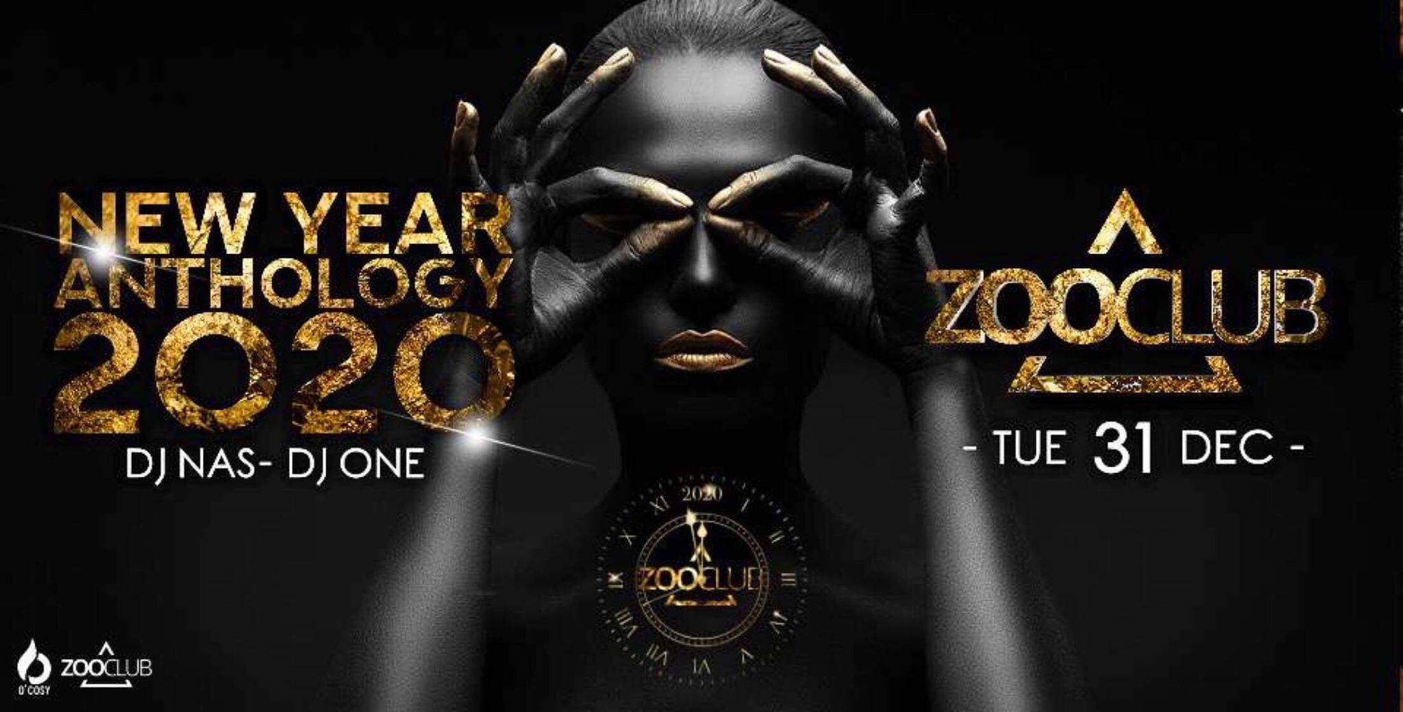 New Year Anthology 2020 au Zoo Club