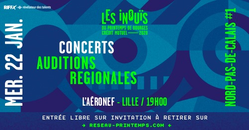 Les iNOUïS du Printemps de Bourges au Grand Mix